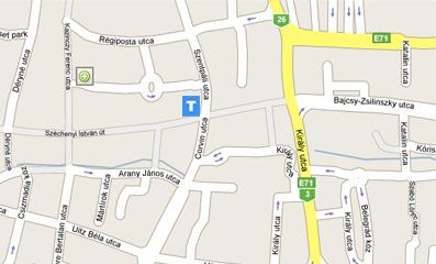 Térkép Miskolc