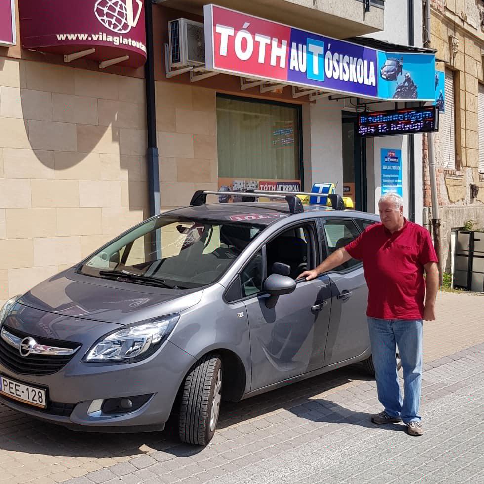 Répási Lajos Opel Meriva benzin